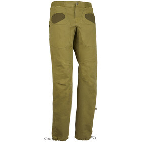 E9 Rondo Slim Trousers Men avocado